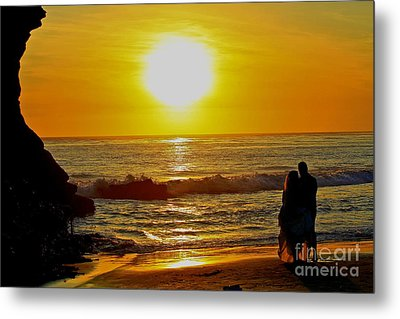 One Love Metal Print by Theresa Ramos-DuVon