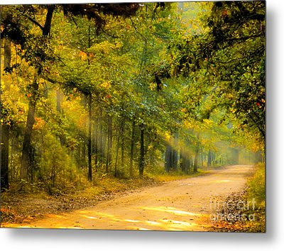 One Misty Morning Metal Print
