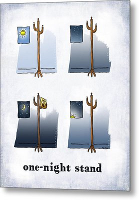 One Night Stand Metal Print by Mark Armstrong