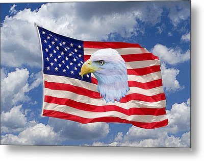 One Proud Bird Metal Print