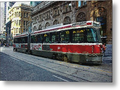 One Queen East Metal Print by Nicky Jameson