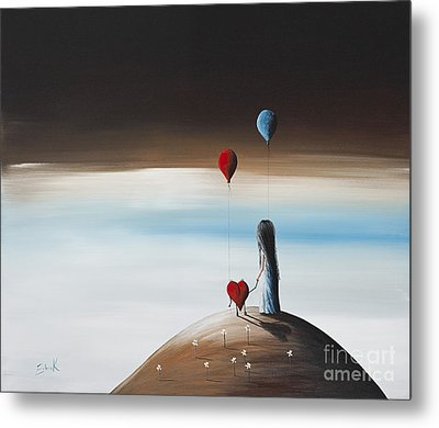 One Step To Heaven By Shawna Erback Metal Print