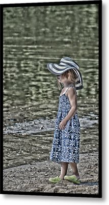 One Summer Day In A Child's  Life Metal Print