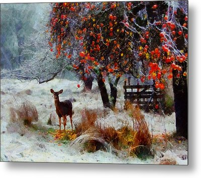 One Winter Morning Metal Print by Kai Saarto