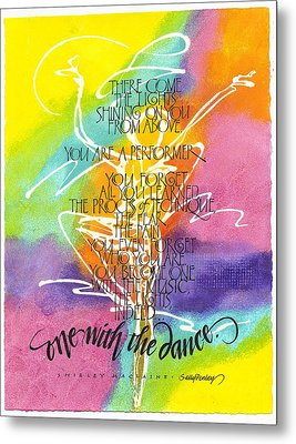 One With The Dance Metal Print by Sally Penley