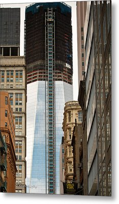 Metal Print featuring the photograph One World Trade Center #2 by Ann Murphy