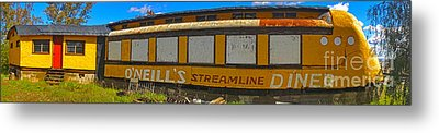 Oneills Streamline Diner - 04 Metal Print by Gregory Dyer