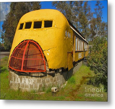 Oneills Streamline Diner Metal Print by Gregory Dyer