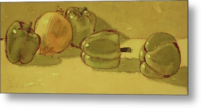 Onion And Bells Metal Print