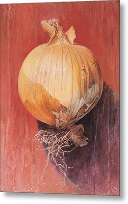 Onion Metal Print by Hans Droog