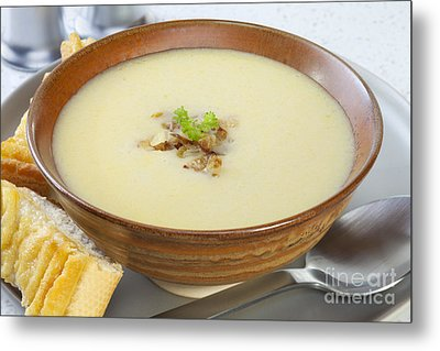 Onion Soup Metal Print by Colin and Linda McKie