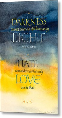 Only Love Metal Print by Barbara Yale-Read