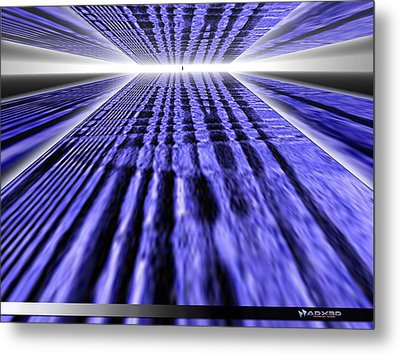 Only One Way Forward. Metal Print by A Dx