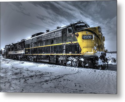 Ontario Southland Railways Metal Print by Nick Mares