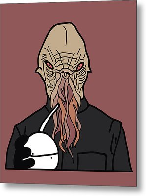 oOd Metal Print by Jera Sky