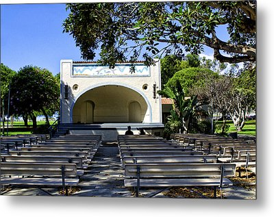 Open Air Theater Pt Fermin Metal Print by Joseph Hollingsworth