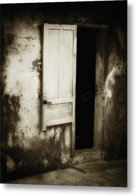Open Door Metal Print by Skip Nall