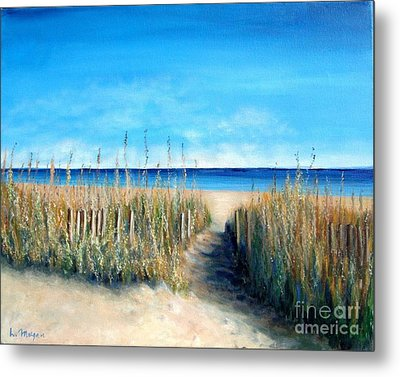 Open Invitation Metal Print by Laurie Morgan