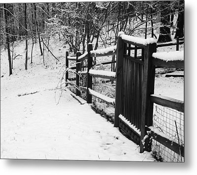 Open Sesame Metal Print by Emmy Marie Vickers