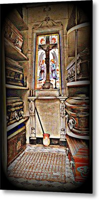 Open Tomb Structure In Buenos Aires Metal Print