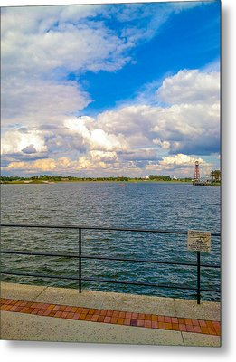 Open Water Metal Print