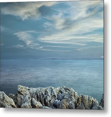 Opened Distance Metal Print by Akos Kozari