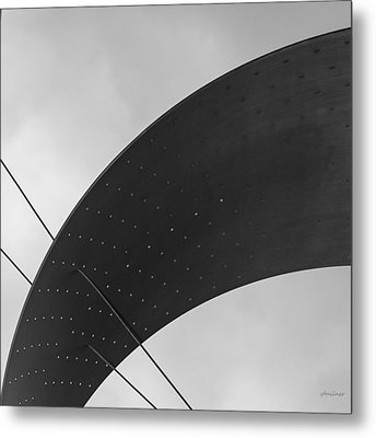 Metal Print featuring the photograph Opening Arch - Abstract by Steven Milner