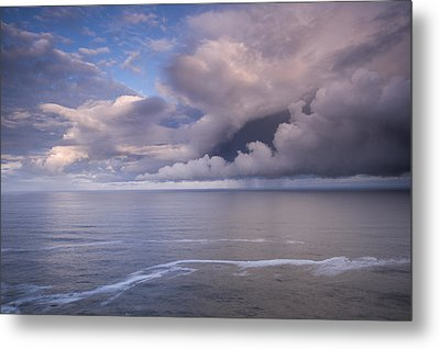 Opening Clouds Metal Print
