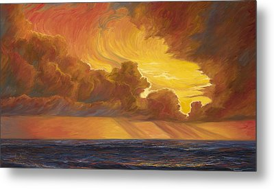 Opening Sky Metal Print by Lucie Bilodeau