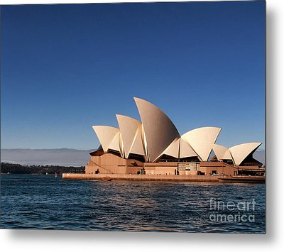 Metal Print featuring the photograph Opera House by John Swartz