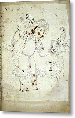 Ophiuchus Constellation Metal Print by British Library