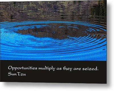 Opportunites Multiplied Metal Print by Omaste Witkowski