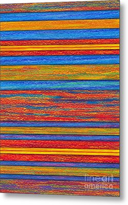 Opposites Divide Metal Print by David K Small