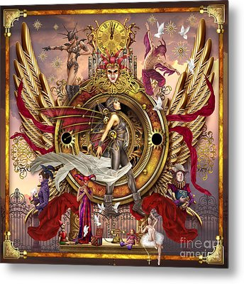 Oracle Of Visions Metal Print by Ciro Marchetti