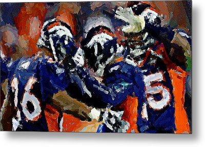 Orange Crush Metal Print by Carrie OBrien Sibley