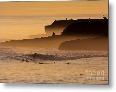 Metal Print featuring the photograph Orange Glow by Paul Topp