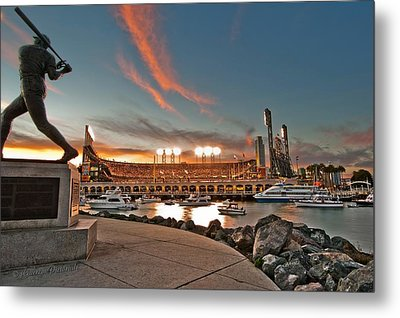 Orange October 2012 Celebrates The San Francisco Giants Metal Print by Jorge Guerzon