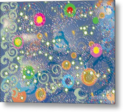 Metal Print featuring the photograph Orbs by Kim Prowse