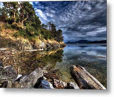 Orcas Island Waterfront Metal Print