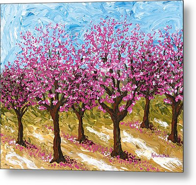 Orchard Metal Print by Katherine Young-Beck