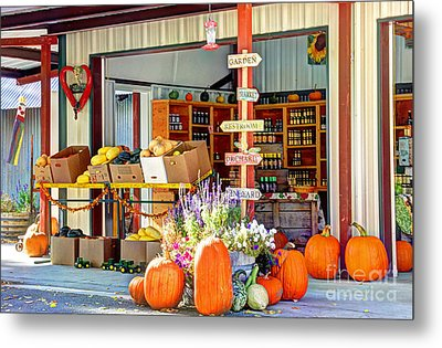 Orchard Valley Market Metal Print