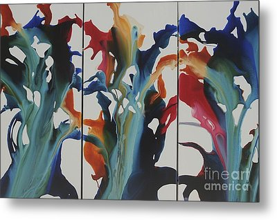 Orchid Metal Print by Sherry Davis