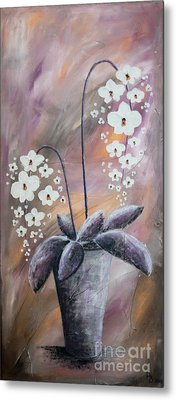 Orchids Metal Print by Home Art