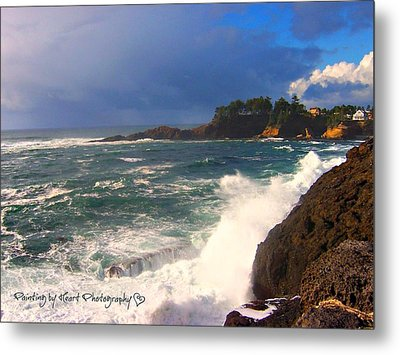 Oregon Coast 9 Metal Print