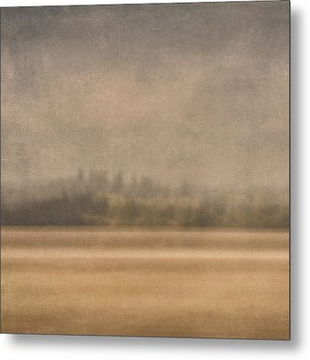 Oregon Rain Metal Print