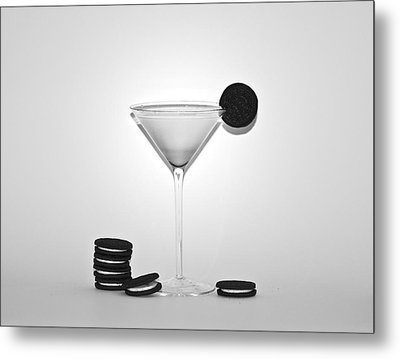 Oreo Happy Hour Metal Print by Bill Cannon