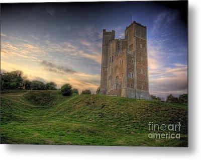Orford Castle Metal Print