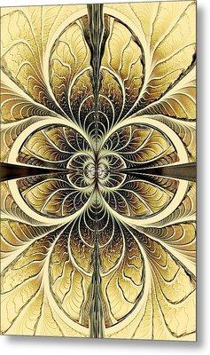 Organic Texture Metal Print