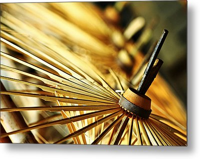 Origin Of Umbrella Metal Print by Suradej Chuephanich