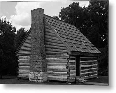 Original Cabin Of President Andrew Jackson Metal Print by Robert Hebert